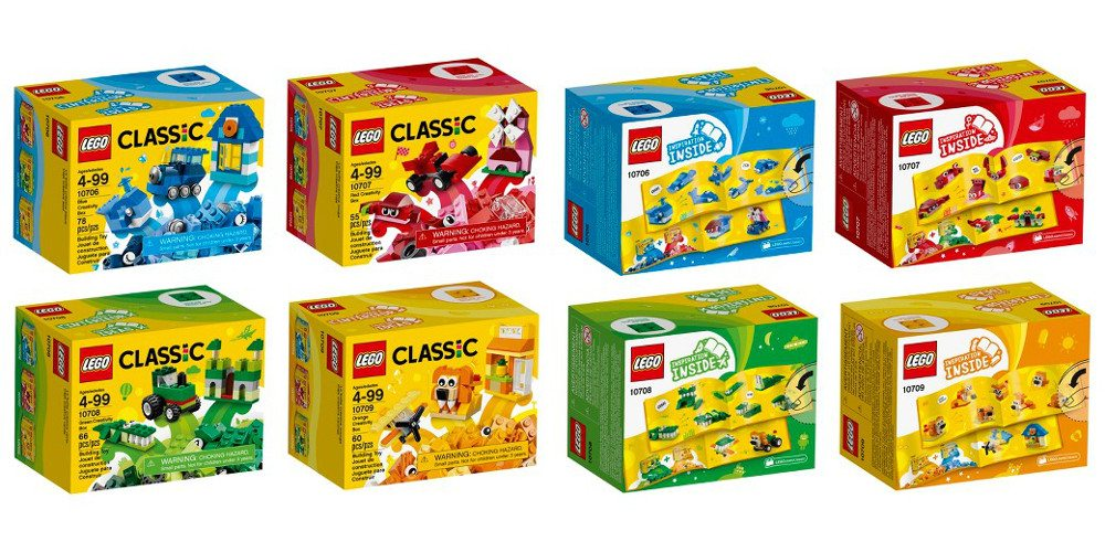 Good Things Come in Tiny Packages: The LEGO Classic Quad Pack