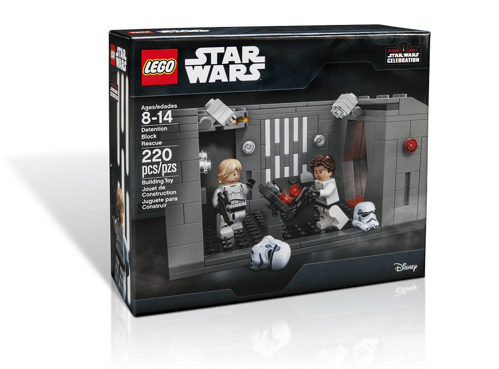 Boring Conversation Anyway: LEGO Unveils Star Wars Celebration Exclusive Detention Block AA-23