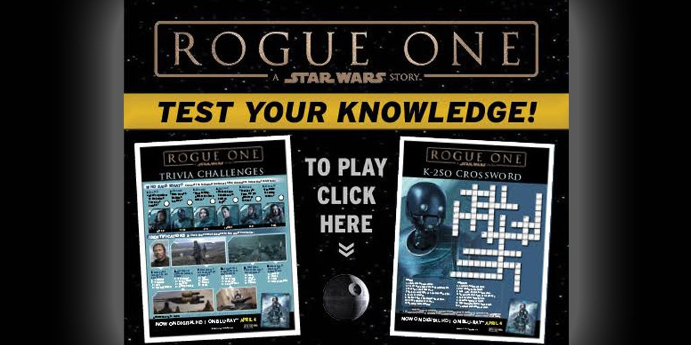 Check Your 'Rogue One' Knowledge With This Short, Fun Quiz