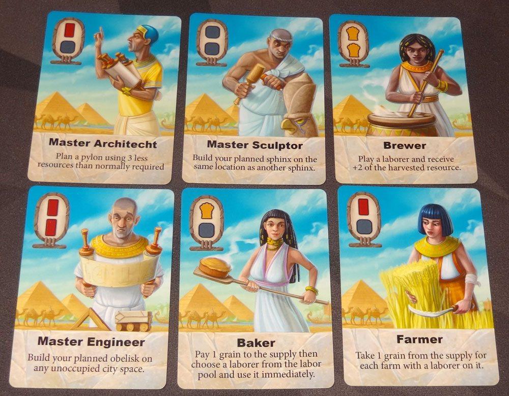 Sailing Toward Osiris city cards