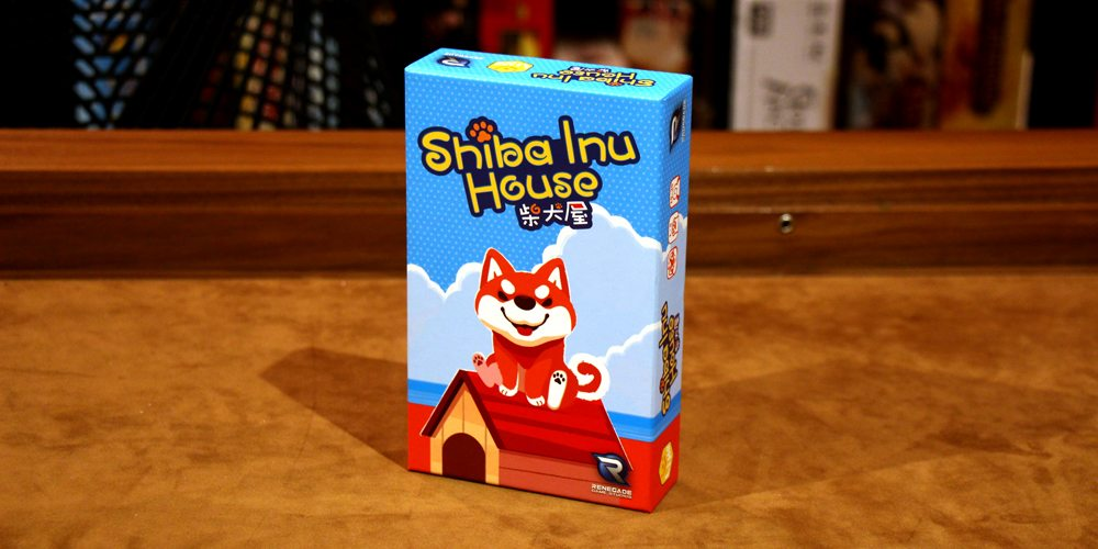 It's Fast Action and Card Playing Fun with 'Shiba Inu House'
