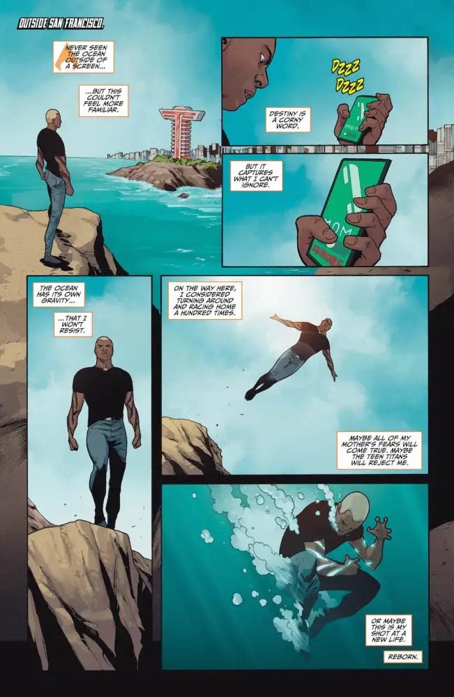 Jackson Hyde/Aqualad, Teen Titans #7, 2017