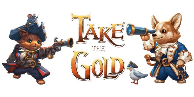 Take the Gold banner