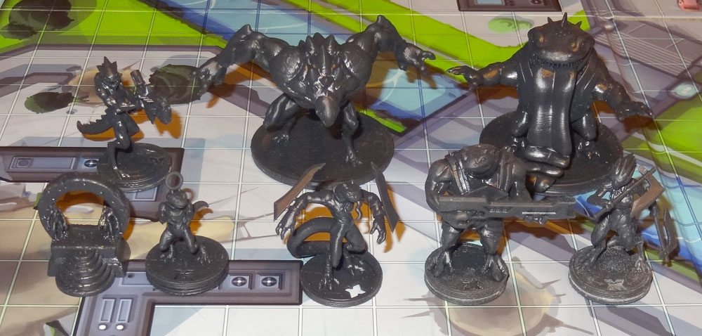 Wanted Earth alien minis