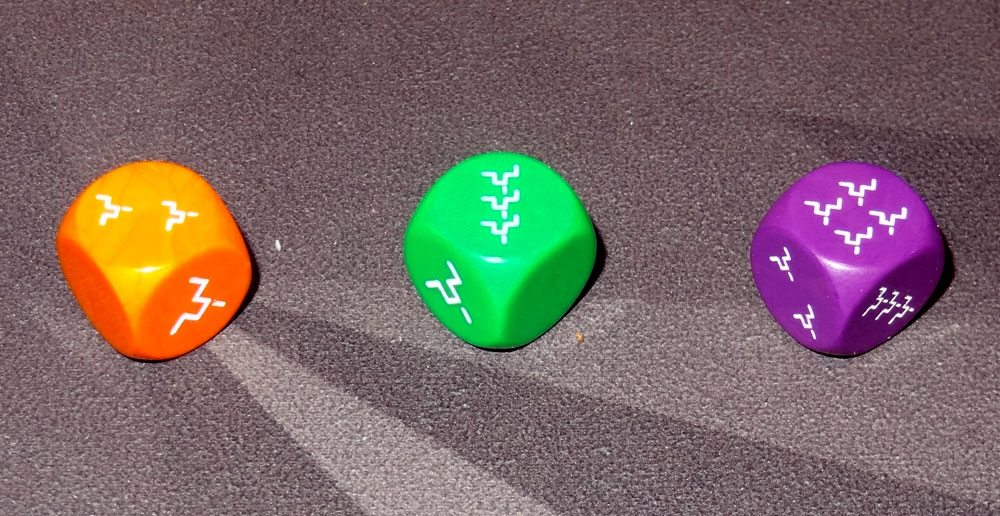 Wanted Earth dice