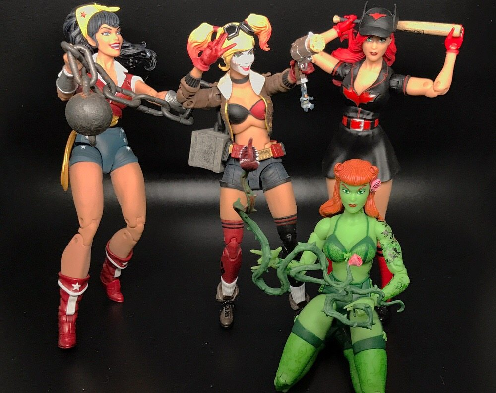 DC Bombshells Ant Lucia Out of Box