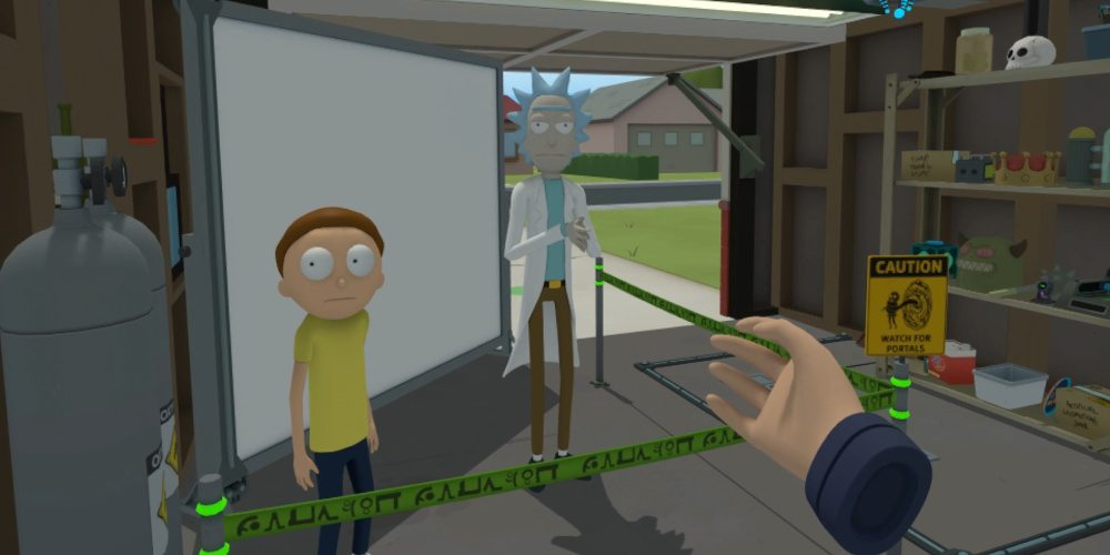 Behind the Scenes of 'Rick and Morty: Virtual Rick-ality'