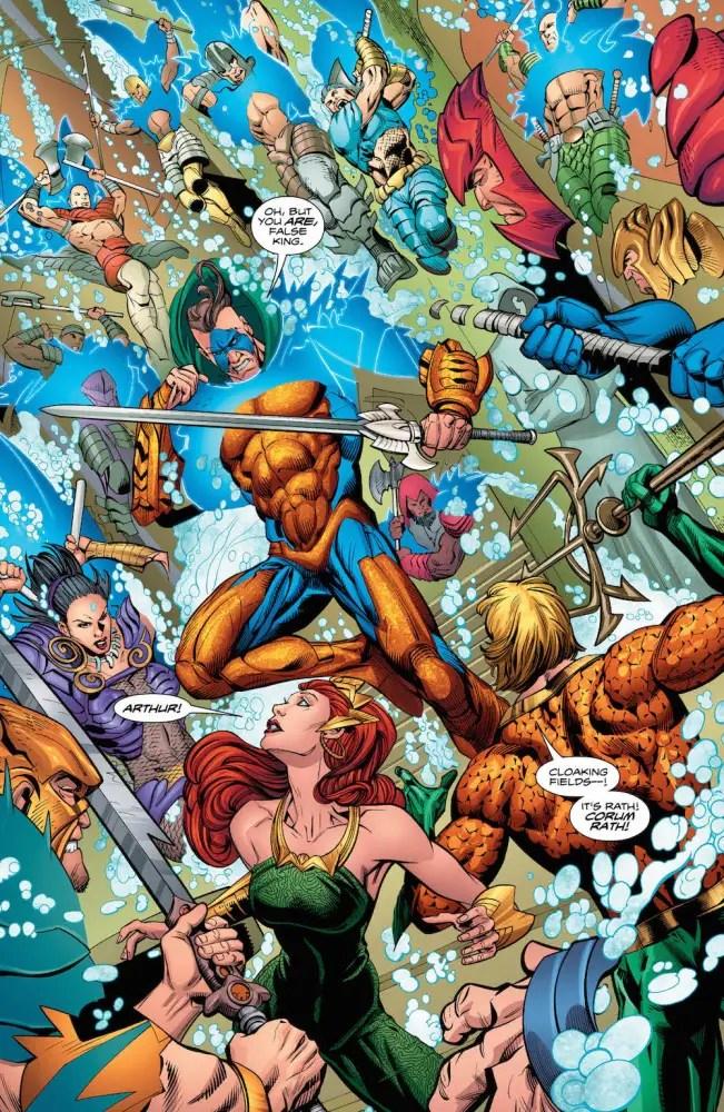 Aquaman #23, Mera, Aquaman