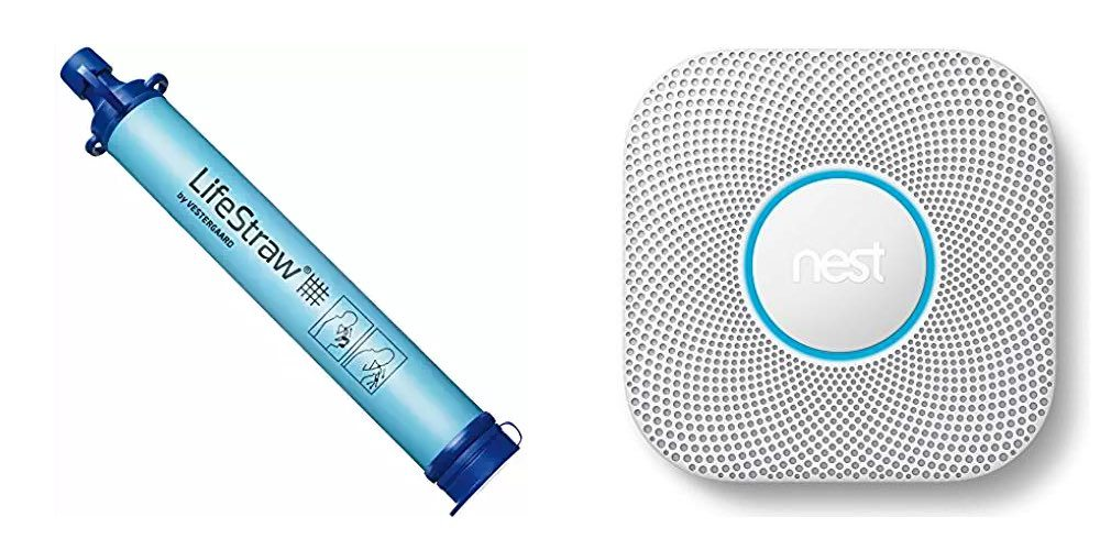 Get the LifeStraw Personal Water Filter for $15; Nest Protect for $113 – Safety Daily Deals!