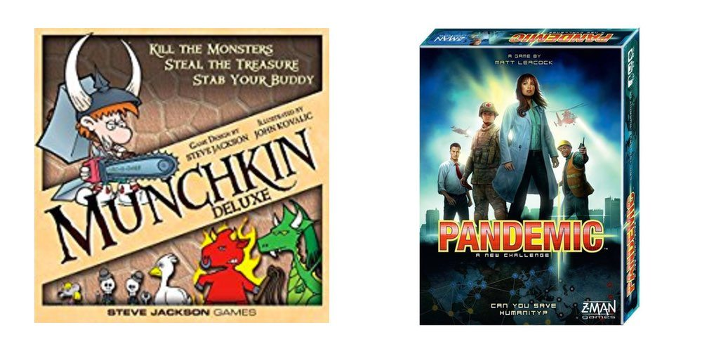 Get 'Munchkin Deluxe for $20; 'Pandemic' for $25 – Tabletop Daily Deals!