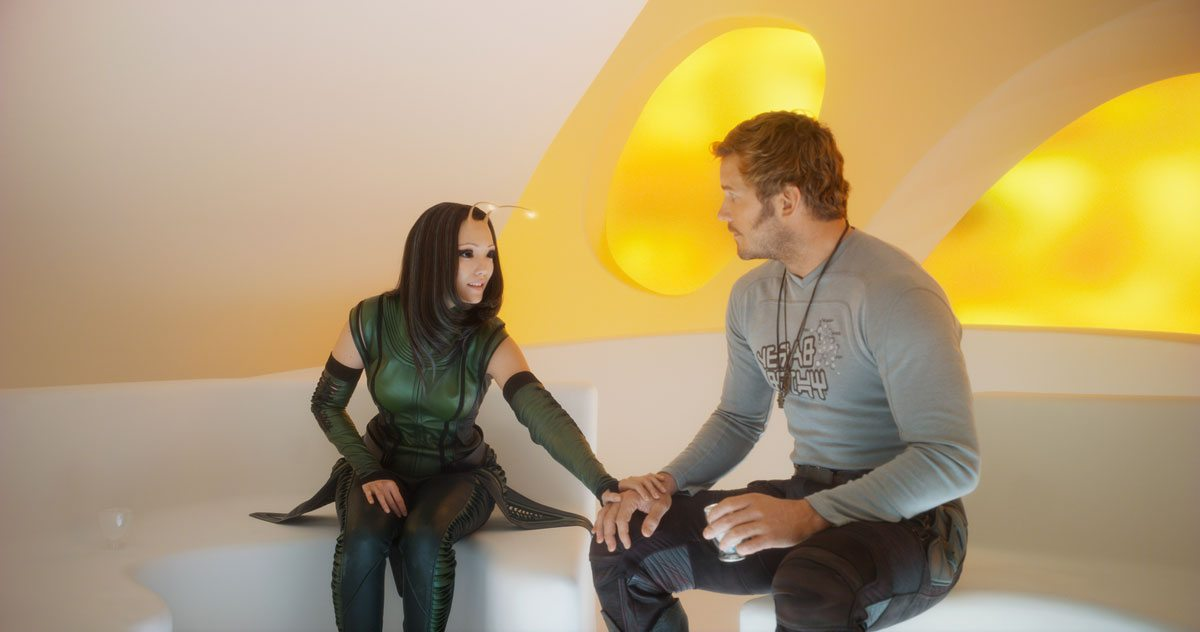 Mantis and Star-Lord