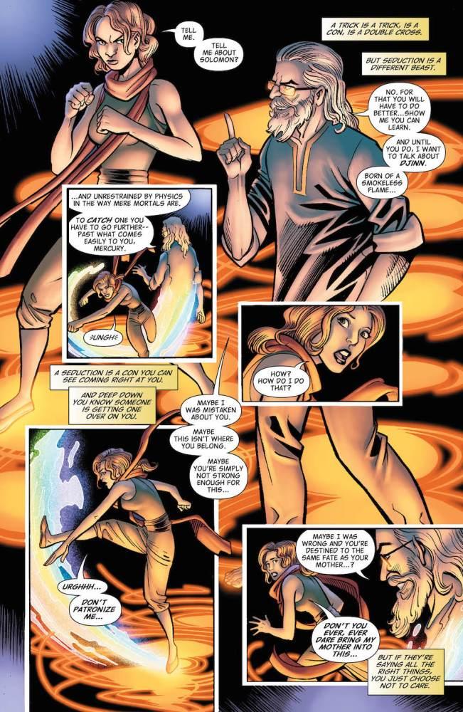 Hellblazer #10, Djinn