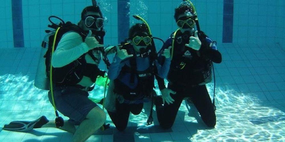Junior Open Water Scuba Diving Courses