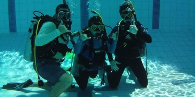 SDI Jnr Open Water Diver Course