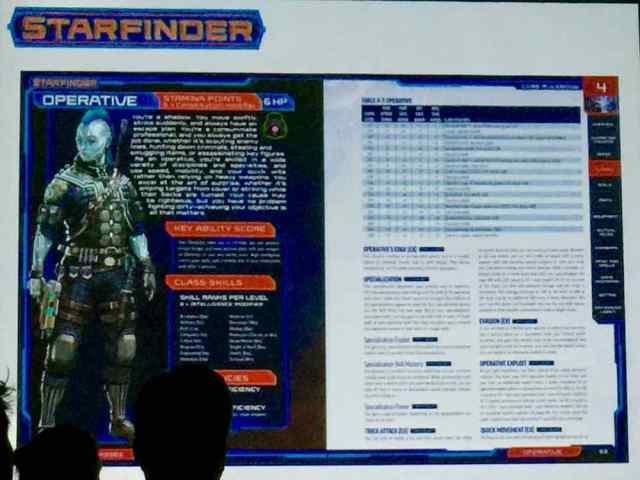 Starfinder Core Page