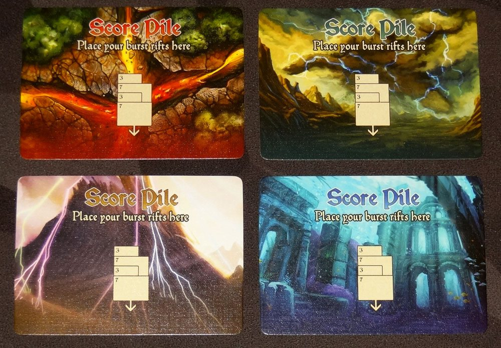 Riftwalker score pile cards