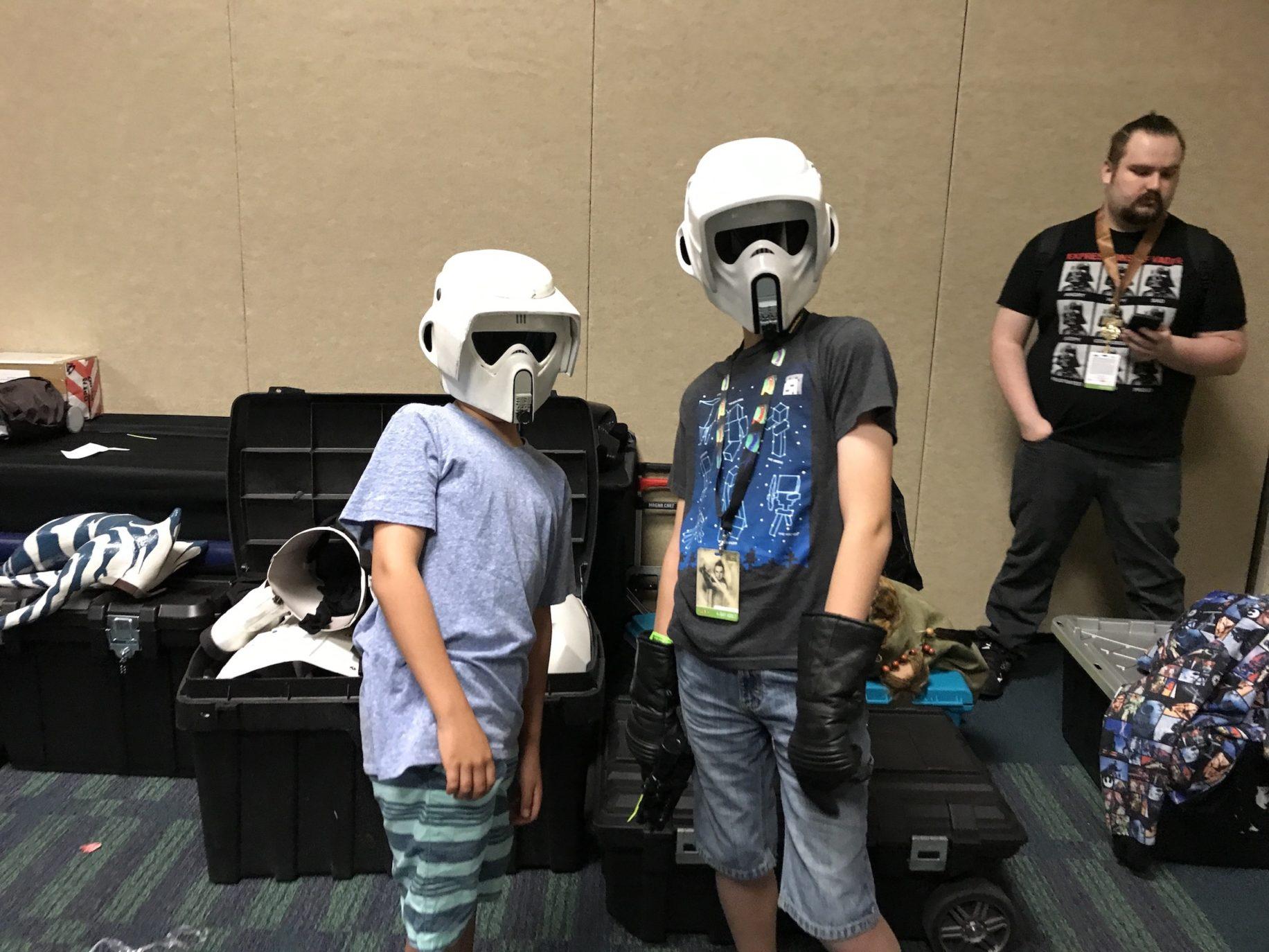 Scout Twins.  image: Dakster Sullivan