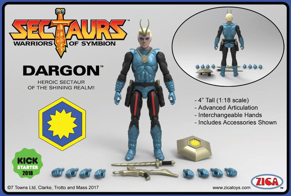 Dargon Figure and Accessories.