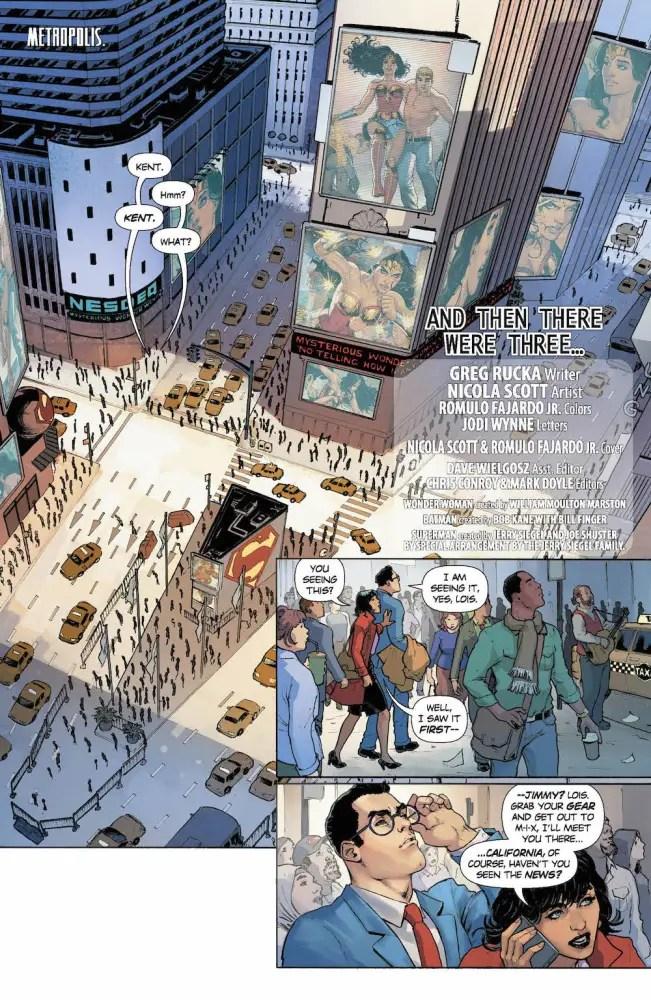 Clark, Lois, Wonder Woman Annual #1
