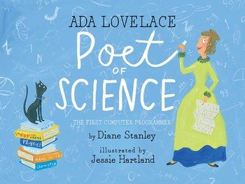 Ada Lovelace, Poet of Science. Image credit: Simon & Schuster