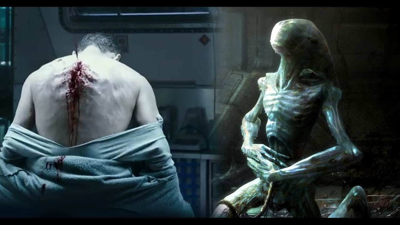 Scene from Alien: Covenant