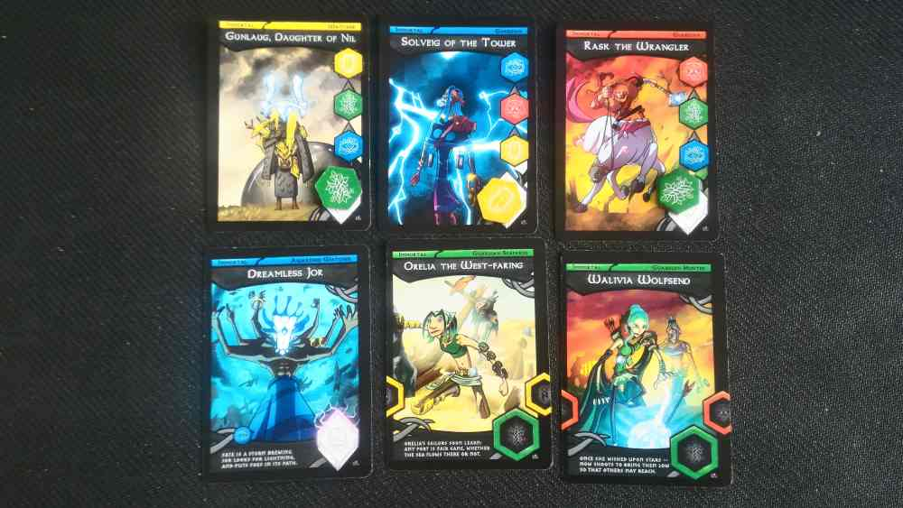 norsaga immortals cards