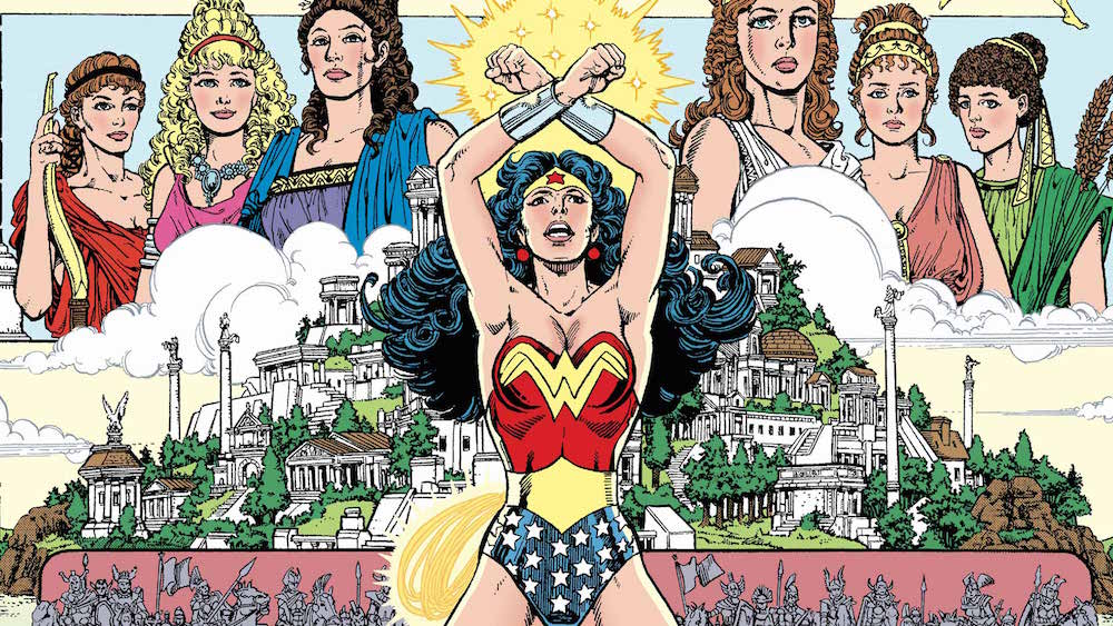 George Perez Wonder Woman