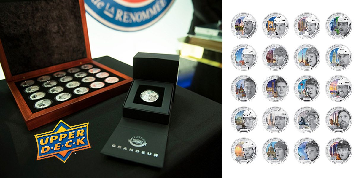 Upper Deck Launches Groundbreaking NHLPA Coin Collection