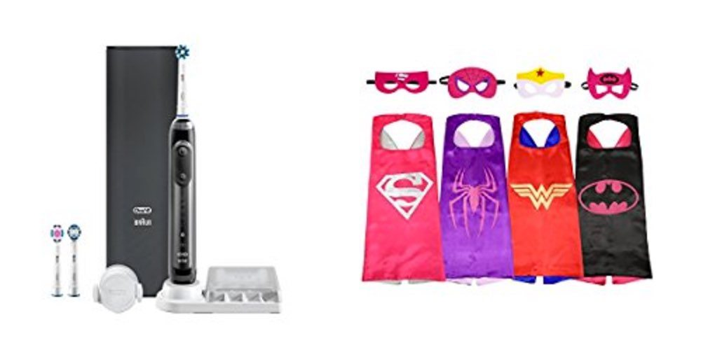 Get a Great Electric Toothbrush for Cheap; or Superhero Capes for Girls and Boys – Daily Deals!