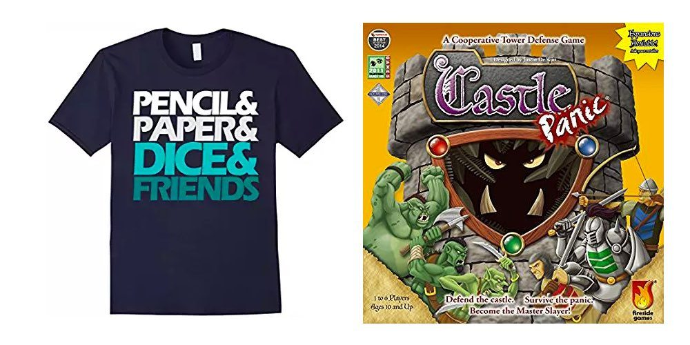 Get This Great Gamer's T-Shirt for $15; Pick Up 'Castle Panic' For $20 – Gaming Daily Deals!
