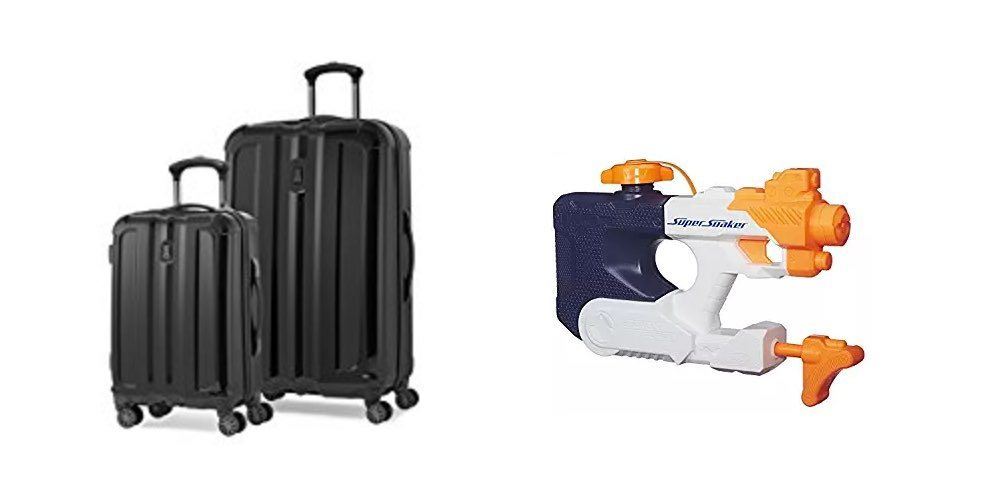 Save Big on Luggage for Summer Travel; Gear Up With Super Soakers in the Hot Daily Deals!