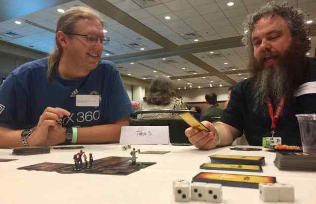 Patrick Rothfuss playing Betrayal at House on the Hill