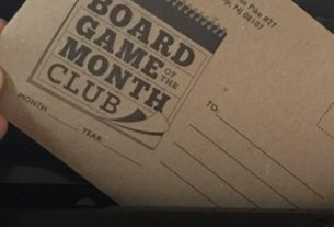 Button Shy Board Game of the Month Club