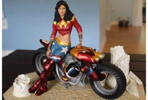 Gotham City Garage Wonder Woman