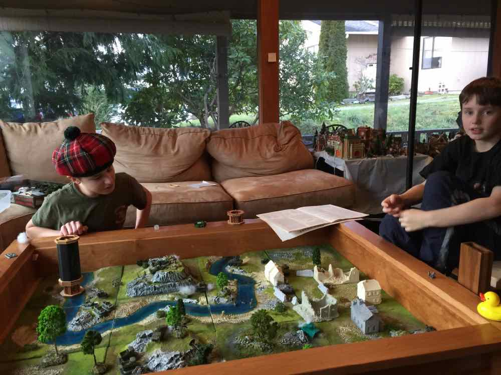 Playing Modern Armor in Gaming Table