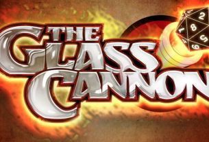 Glass Cannon Podcast Logo