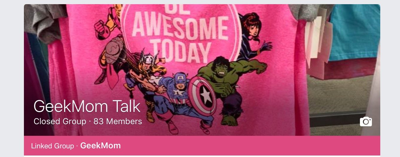 GeekMom Talk: An Online Community of Geeky Moms
