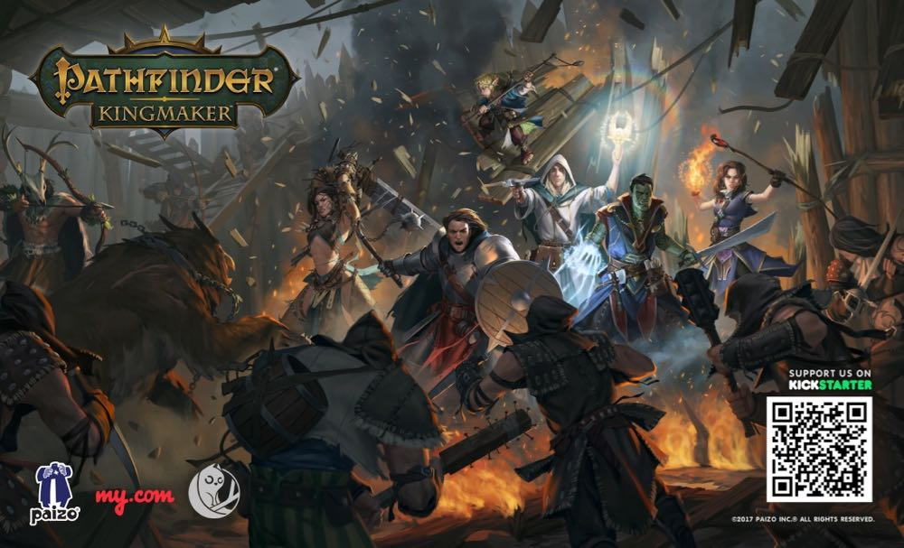 Kickstarter Alert! Tame the Stolen Lands in 'Pathfinder: Kingmaker'