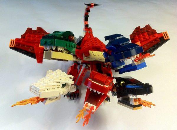 D&D LEGO Tiamat