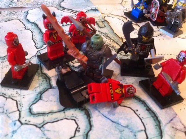 LEGO D&D Graznak Skullcrusher