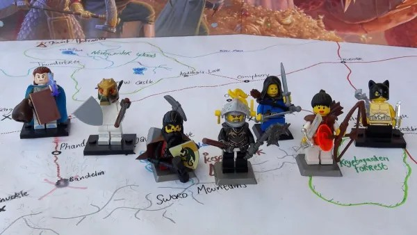 LEGO D&D Troops of Baselandia