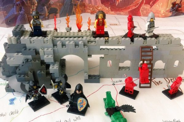 LEGO D&D attack on Greenest