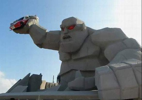 Miles the NASCAR Monster