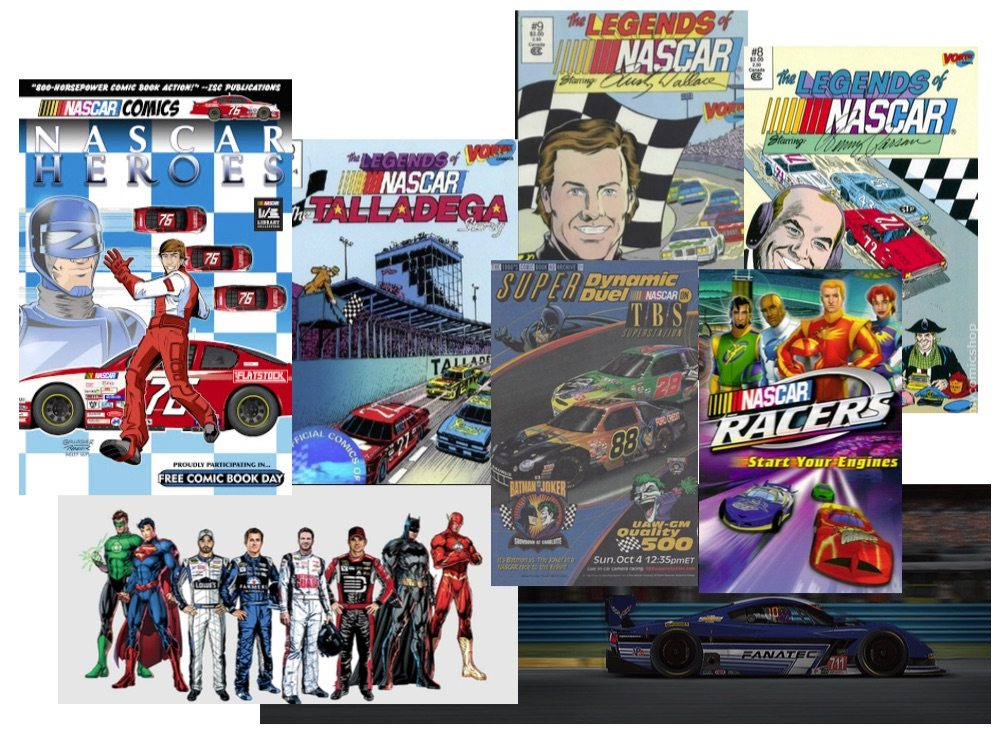 NASCAR comic books