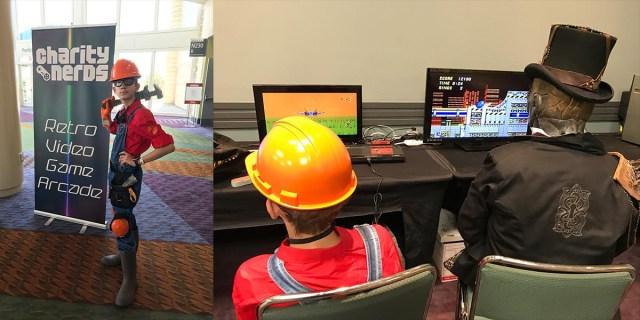Retro Gaming Room  Image: Dakster Sullivan