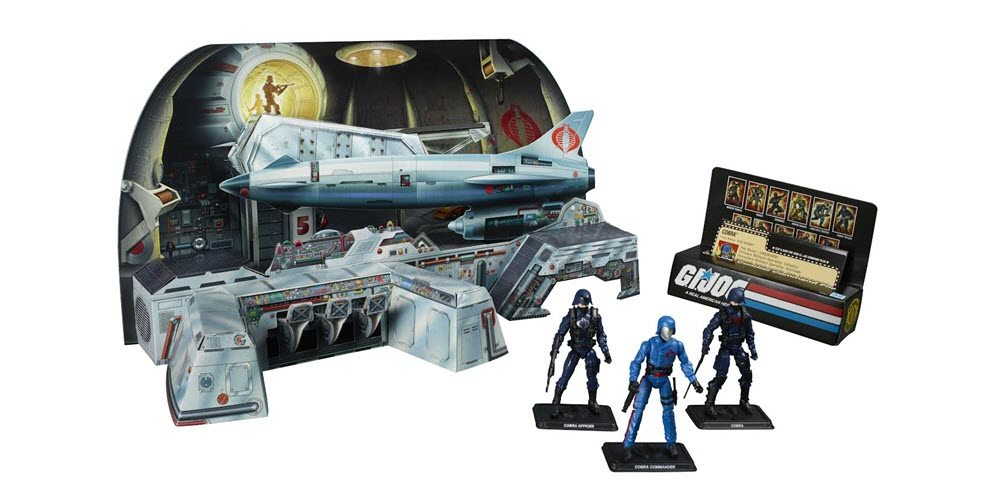 SDCC Exclusive G.I. Joe Cobra Missile Command Headquarters Is Dripping With Nostalgia