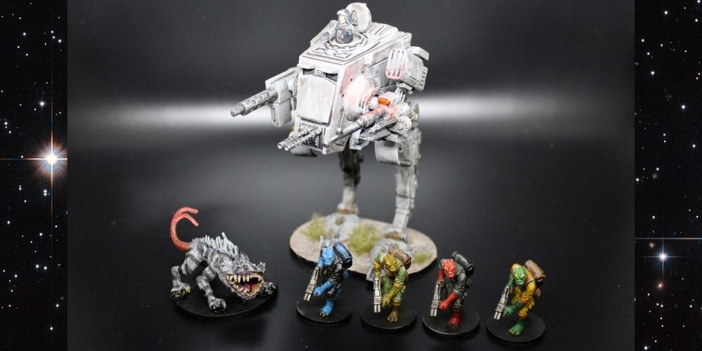 GeekDad Paints! 'Imperial Assault' Backlog of Shame Roundup