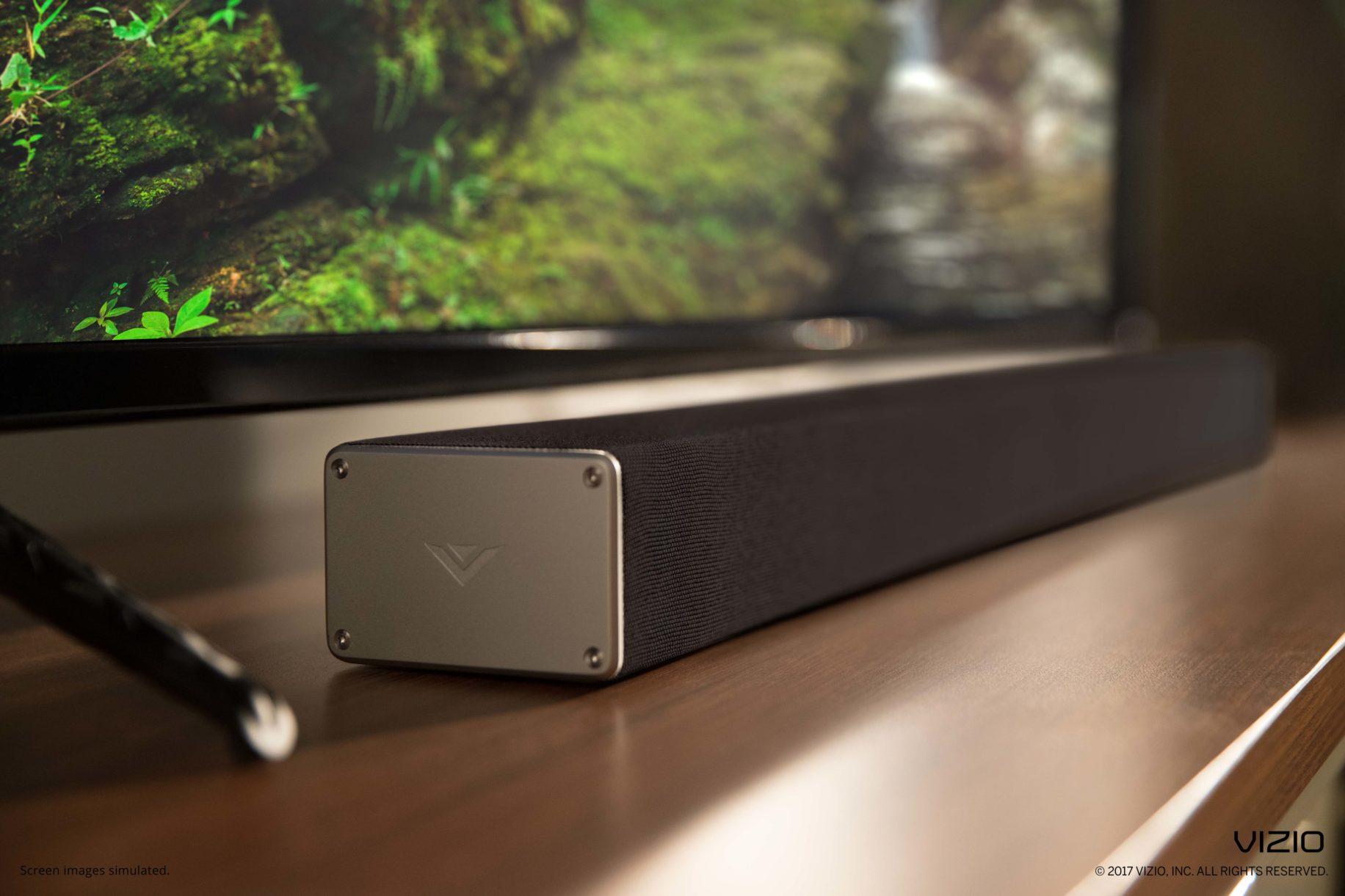 Sound bar side view  Image: Vizio