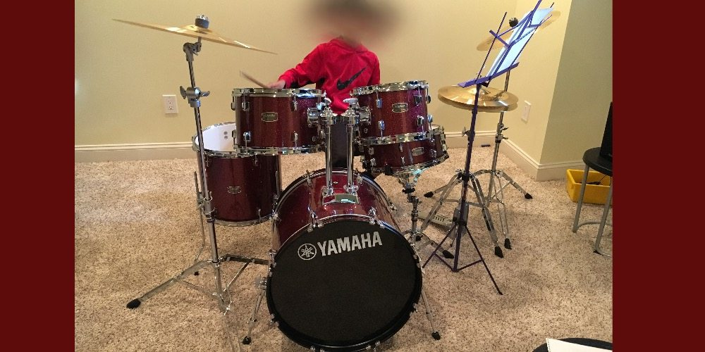 Yamaha Rydeen Drum Kit Rocks