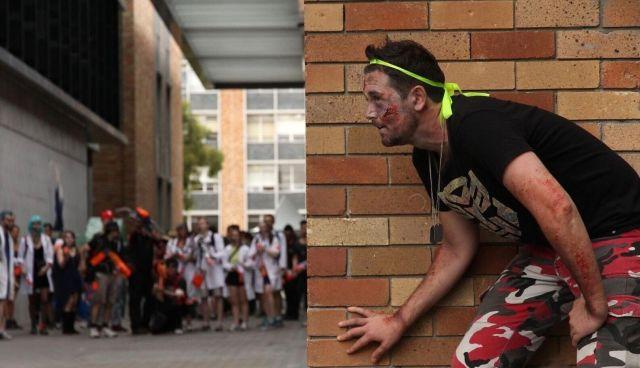 zombie nerf war sydney